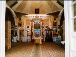 Храм Успения Божьей Матери, село Вязынь, интерьер